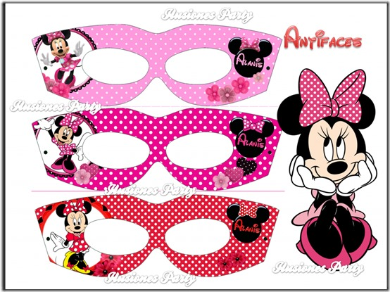 antifaces y gorritos minnie mouse (6)