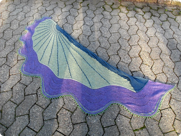 The Doodler - Stephen West Mystery Shawl 2015