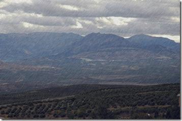Lluvia en el valle