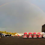 We're playing at the end of the rainbow tonight