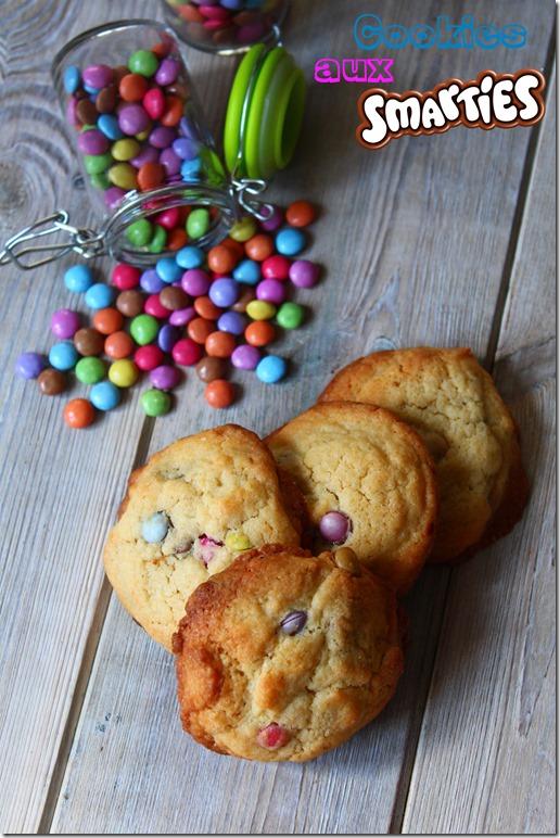 Cookies aux Smarties 2