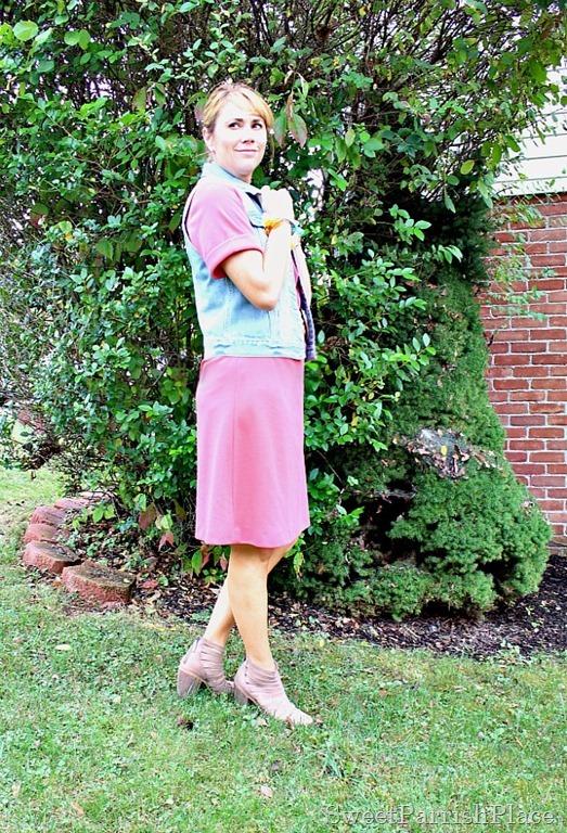vintage-1950's-dress-denim-vest-booties-2