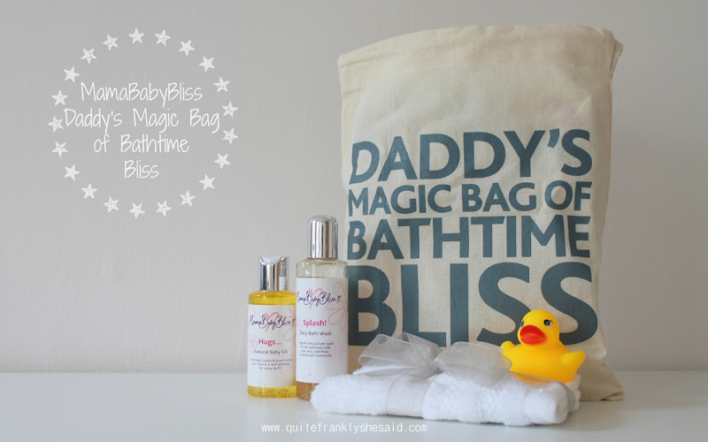 MamaBabyBliss Daddy Bag
