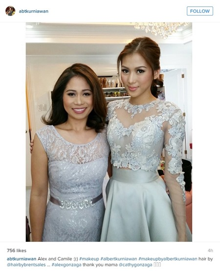 Paul-Celestine wedding - Alex Gonzaga