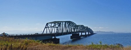 Astoria–Megler Bridge from the North side