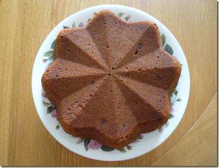 mocha banana cake3