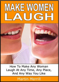 Cover of Martin Merill's Book Make Women Laugh