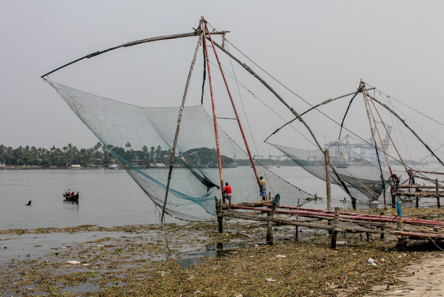The Chinese fishing nets, Cochin