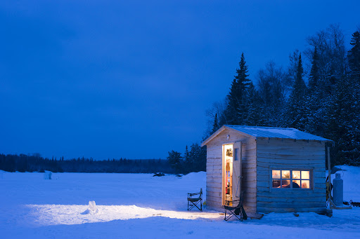 Ice fishing in northern ontario ontario 39 s algoma country for Wisconsin ice fishing resorts
