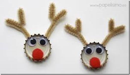 adornos navidad con chapas (3)
