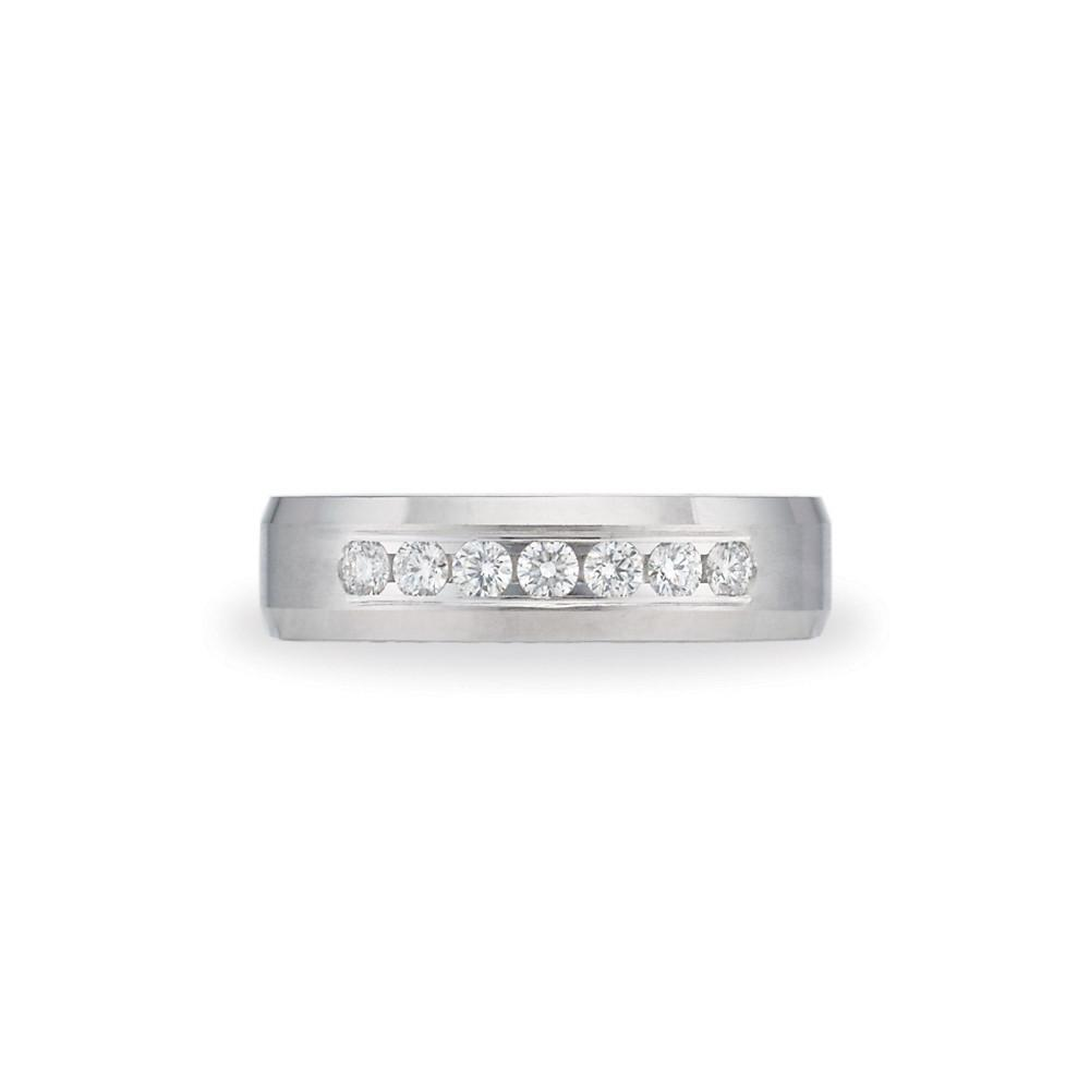 Mens Diamond Wedding Band.