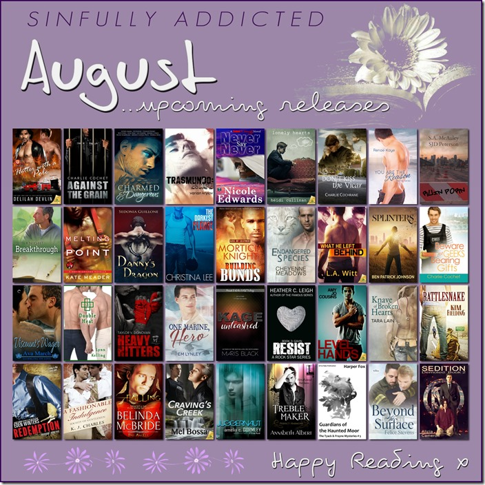 August Upcoming Releases