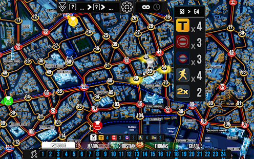 Scotland Yard Screenshot