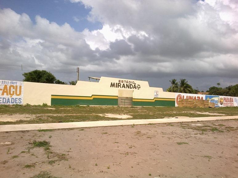 Estadio Municipal Mirandao - Apicum-Açu, Maranhao, fonte: pagina Facebook Apicum-Açu