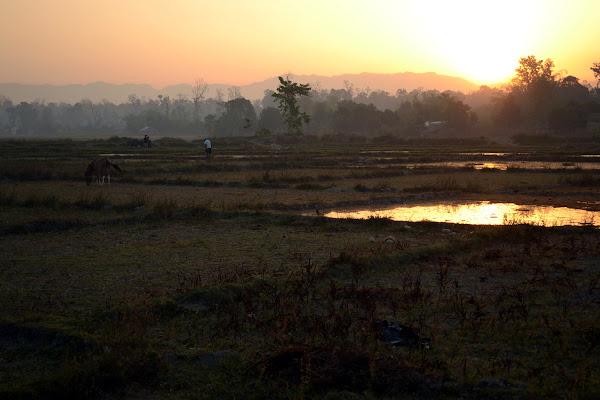 непал равнина рассвет