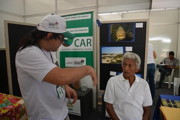 Foto 1 Sema na Agrictec Novidades nas áreas do CAR e Monitoramento Ambiental