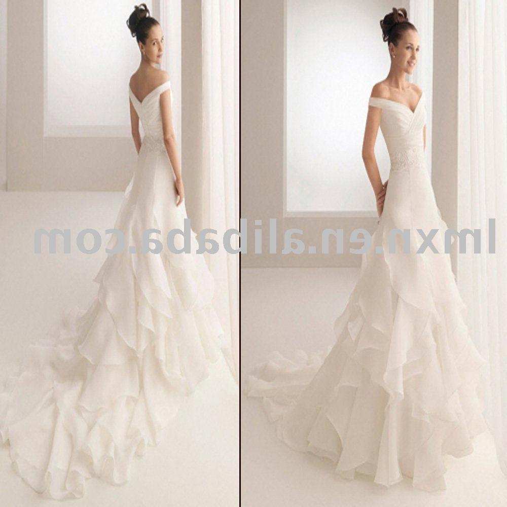 best color wedding dress for