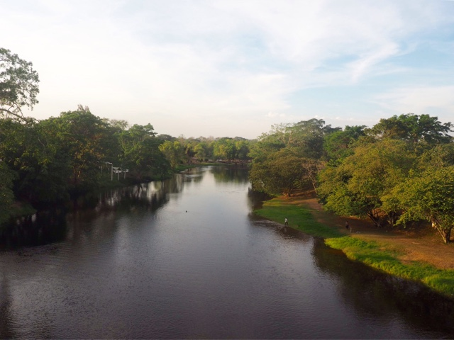 View of the river beside San Ignacio, Belize