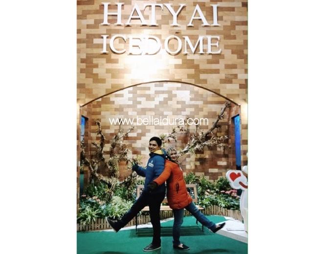 ice dome, bercuti hatyai