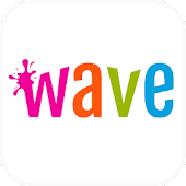 Download Wave Animated Keyboard + Emoji APK to PC