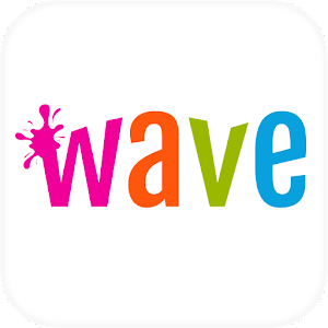 Wave Animated Keyboard + Emoji
