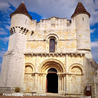 French Village Diaries Cycling Charente-Maritime France Romanesque Church Écoyeux