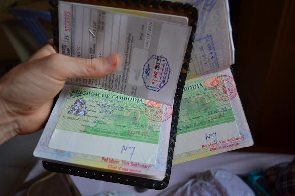 камбоджийская виза виза камбоджа