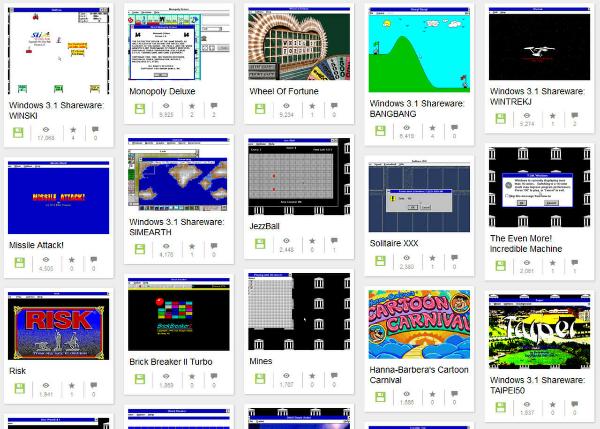 Internet Archive Adiciona Jogos De Windows 3 1 Para Jogar