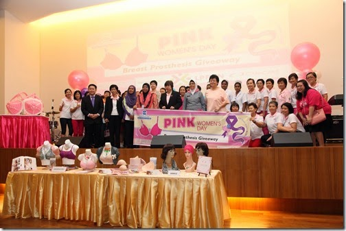Penang Health Care Event - Pink Women Day 2015 at Loh Guan Lye Specialists Centre, Penang by CK Lam