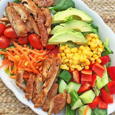 Sweet Dairy Free Chopped Chicken Salad