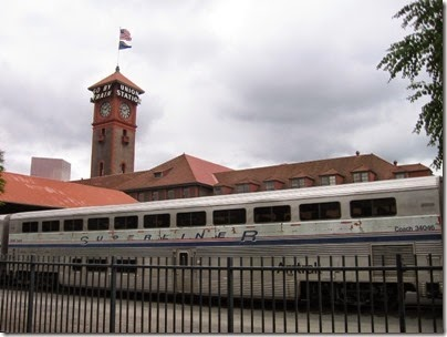 IMG_0757 Amtrak Superliner I Coach #34046 at Union Station in Portland, Oregon on May 10, 2008