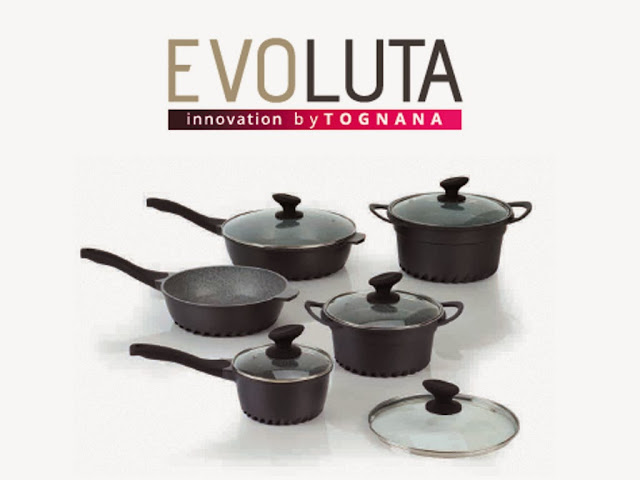 Batteria pentole Evoluta by Tognana - 0