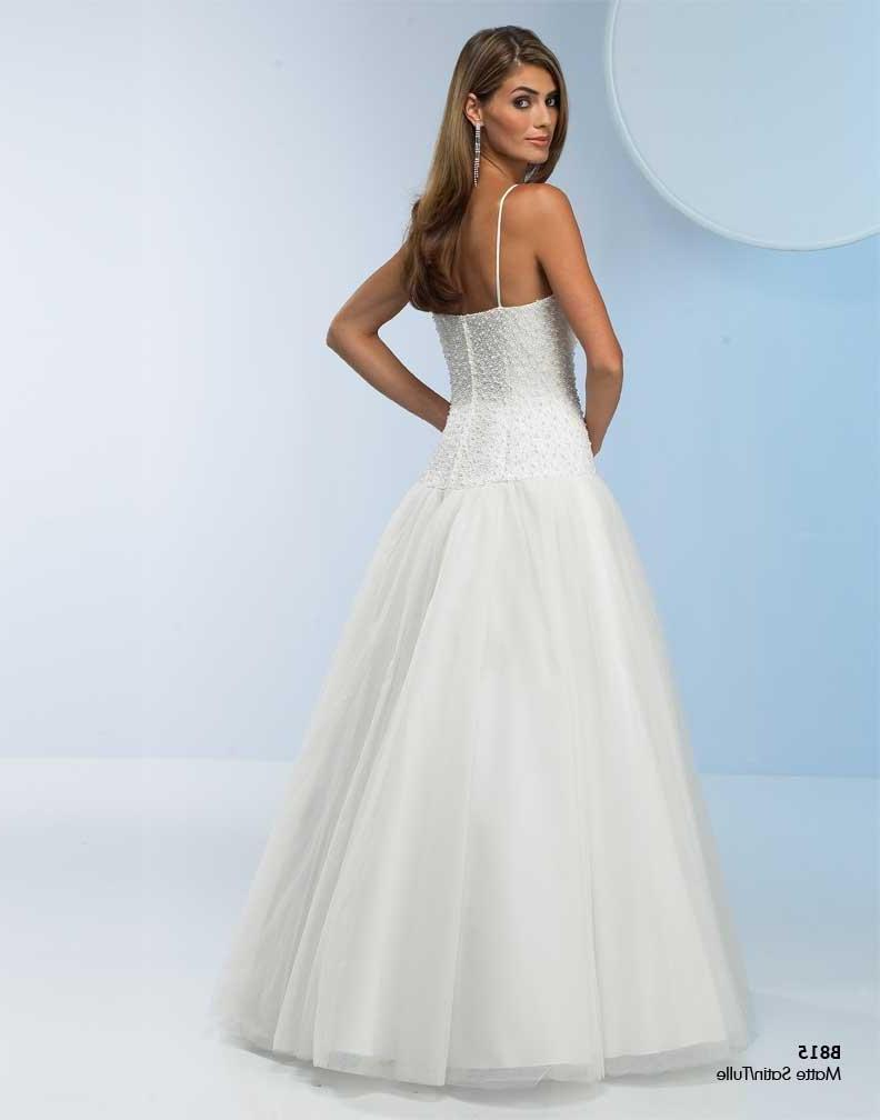 organza wedding dress for