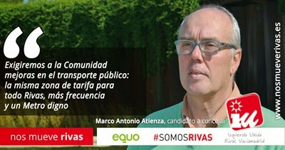 candidatura IU Rivas -- Transportes