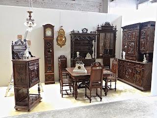 Жилая комната в БРИТОНСКОМ стиле. 19-й век. 15000 евро.