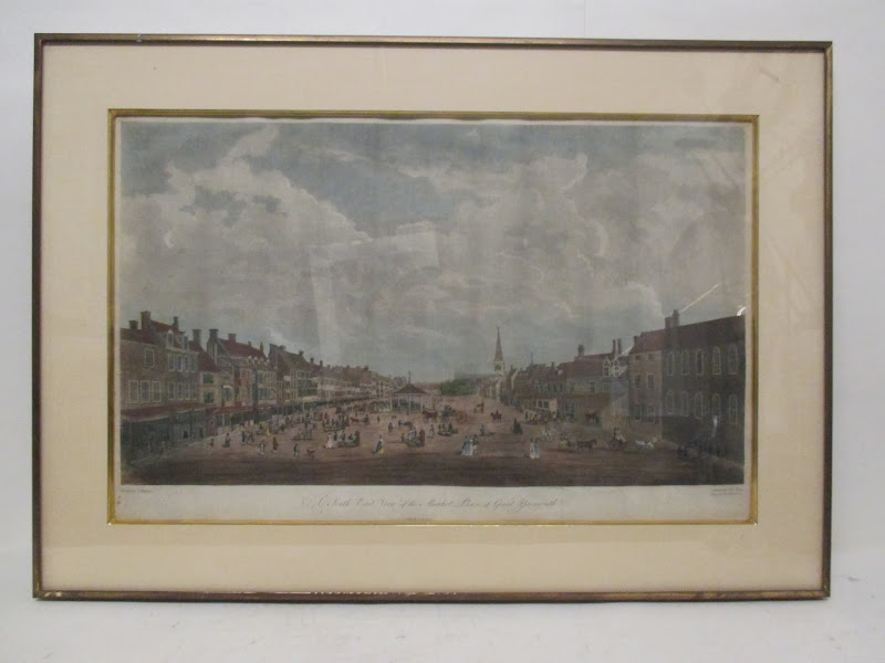 R.Pollard Antique Etching