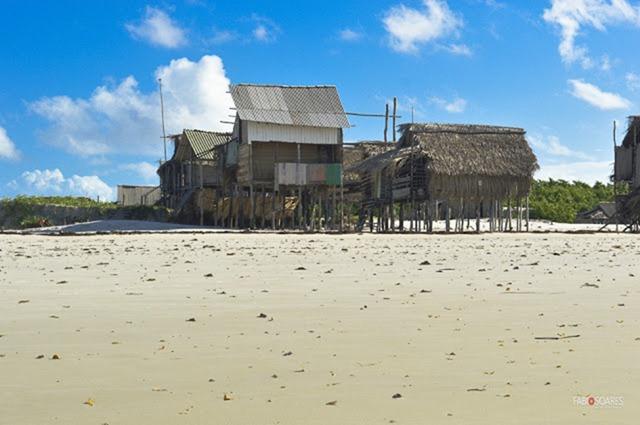Praia do Gurupizinho - Viseu, Parà, fonte: Fabio Soares/viseuturismo.com
