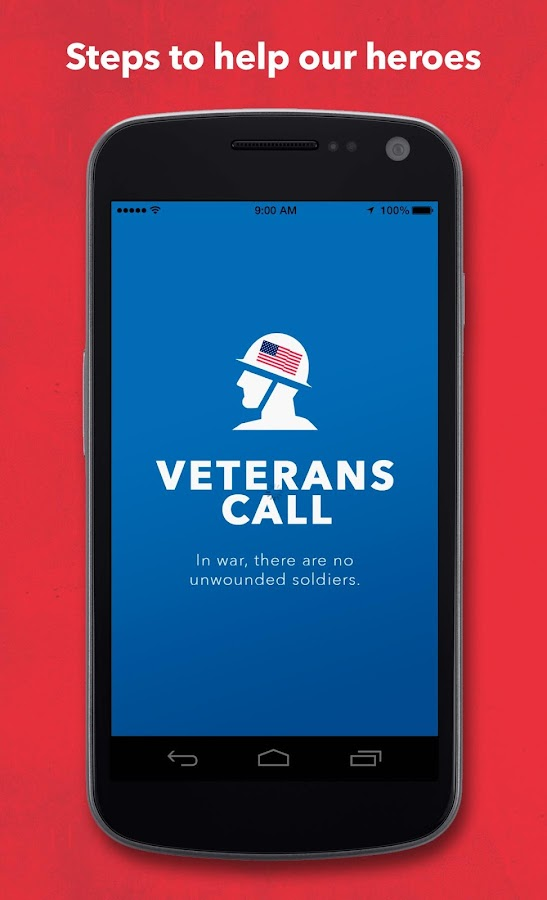 Veterans Call Screenshot 0