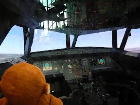 CM pretending he's a pilot