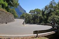 Von Locarno hoch in das Sacktal Valle Maggia. Sehr serpentinenreich!