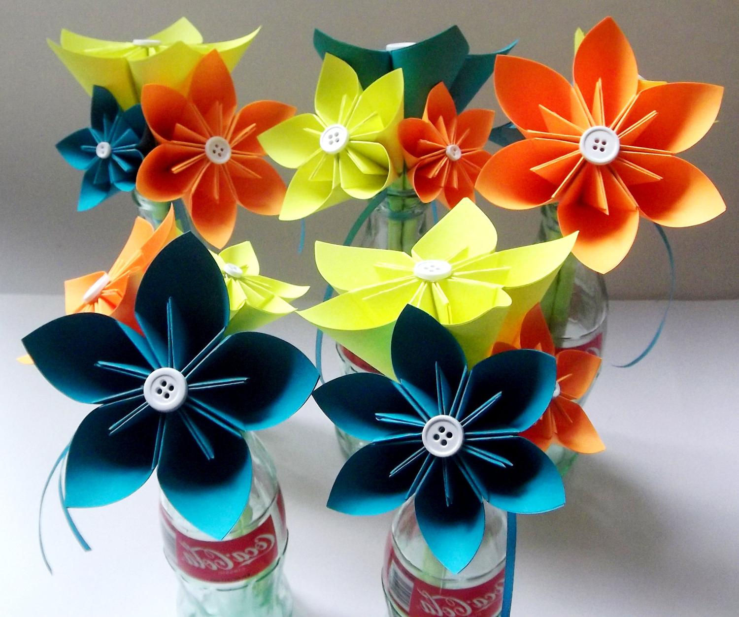 MADE TO ORDER: Set of Small Bouquets- wedding, bridal party, centerpiece,