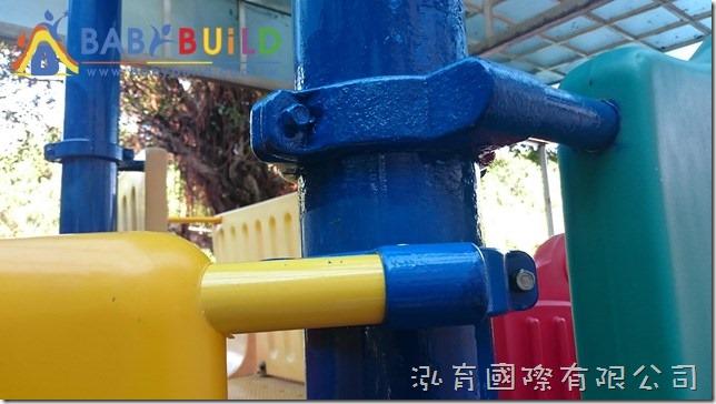 管柱夾環除鏽上漆處理