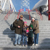 The Freys at Navy Pier Park in Chicago 01152012a