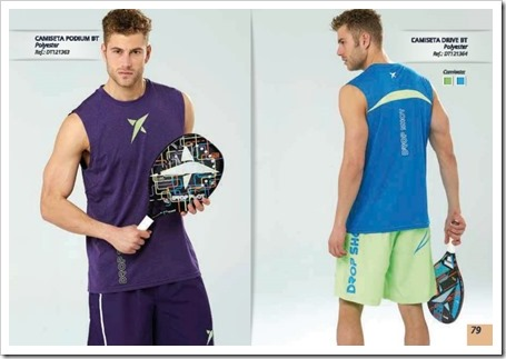 Drop Shot Tenis Playa Beach Tennis 2015 Textil chico