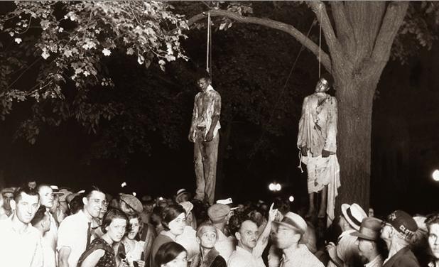 Black-lynching