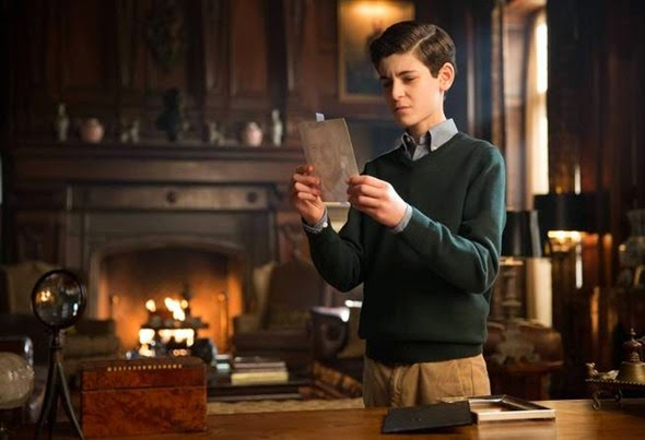 "GOTHAM: Bruce (David Mazouz) looks deeper into his father's past in the ""All Happy Families Are Alike"" episode of GOTHAM airing Monday, May 4 (8:00-9:00 PM ET/PT) on FOX. ©2015 Fox Broadcasting Co. Cr: Jessica Miglio/FOX"
