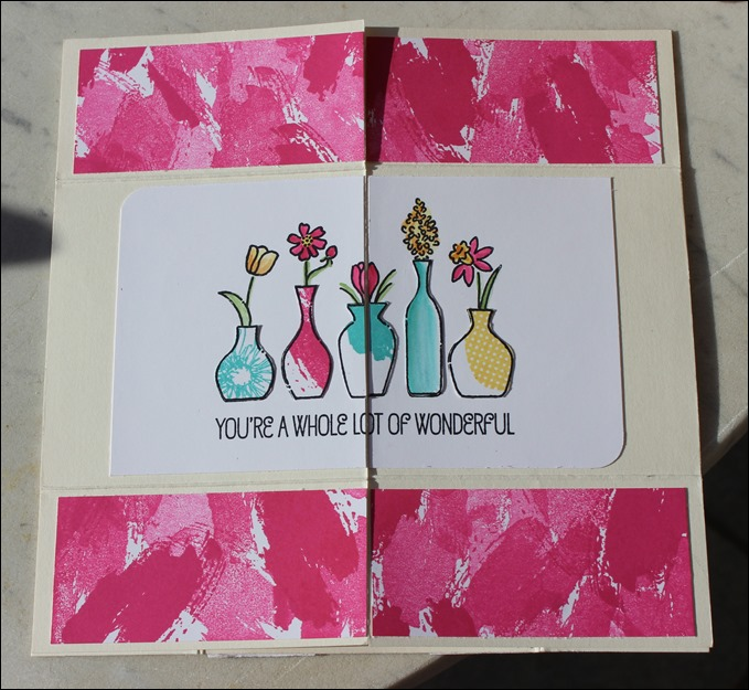 Endloskarte Endless Card Infinity Card Never Ending Card Stampin Up 00