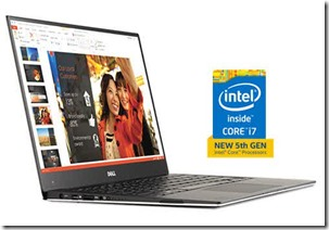 Dell XPS 13 Intel Broadwell