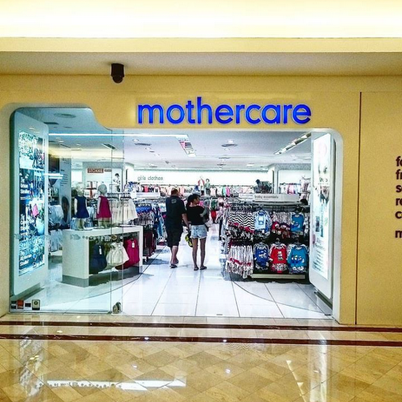 Shopping pakaian di Mothercare KLCC