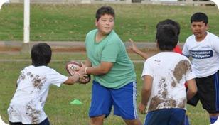 Se pone en marcha la Escuela Municipal de Rugby Social